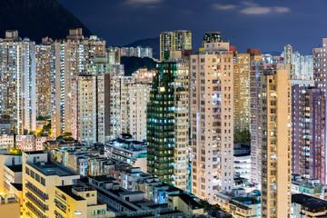 City life in Hong Kong