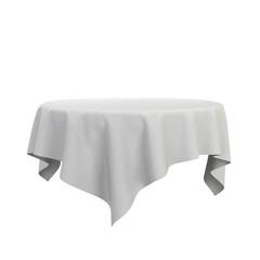 Blank tablecloth