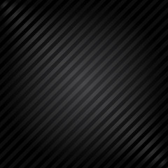 Vector background - black paper with stripes