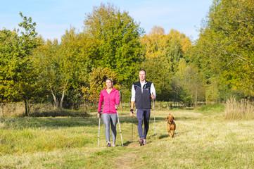Freizeitsport Nordic Walking