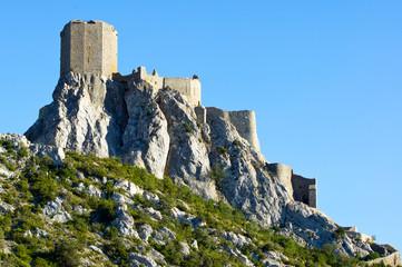 Sunrise at Queribus Cathar Castle