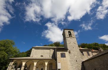 Santuario della Verna in Toscana