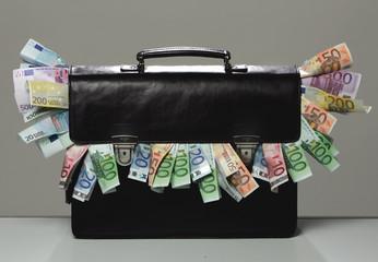 Aktentasche mit Geld
