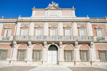 The Royal palace of Aranjuez, Madrid, Spain.