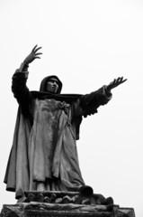 Statue of Girolamo Savanarola, Dominican priest, city of Ferrara