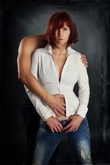 verliebtes Paar - Sinnlichkeit - Erotik - Sexy