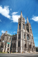 The Cathedral Basilica of the Immaculate Conception in Denver