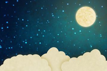 Fantasy sky background