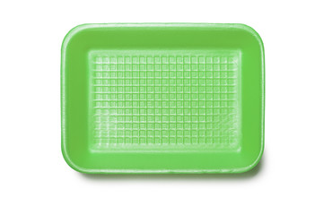 Green Foam Tray