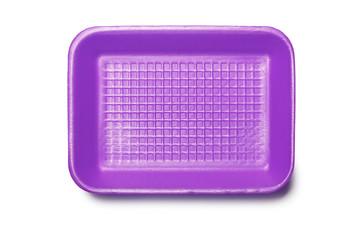 Purple Foam Tray