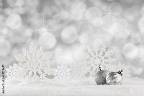 canvas print picture Christmas background