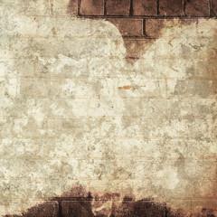Dirty brick grunge wall background