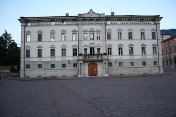 Il palazzo della Curia Arcivescovile di Trento