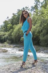 Fashion am Fluß