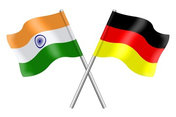 Flags: India and Germany