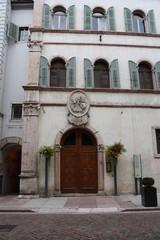 Facciata di Palazzo Salvadori a Trento
