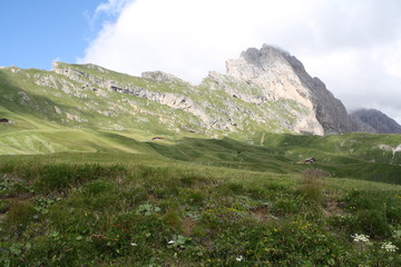 La Piccola e Grande Fermeda viste dal Col Raiser