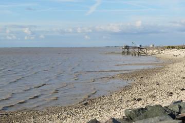 Charente-Maritime - Marsilly - Plage de galets