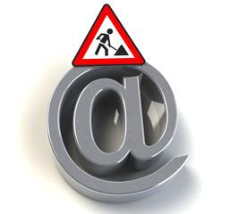 E-Mail Bauarbeiten