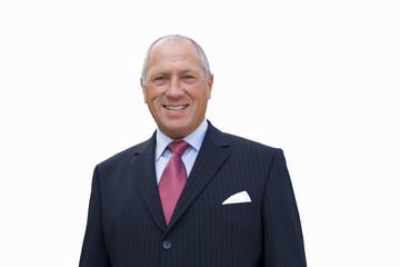 Businessman, portrait, cut out