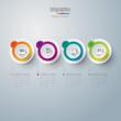 Zdjęcia na płótnie, fototapety, obrazy : Infographics vector design template.