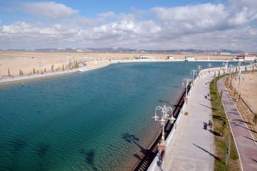 Обводной канал в Авазе