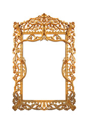 Frame decorative gold