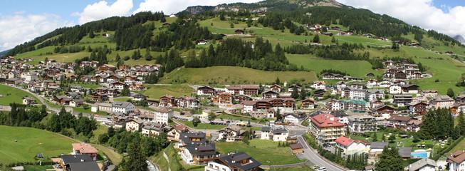 Vista di Santa Cristina Valgardena