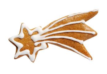 Gingerbread comet