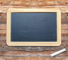 Tafel Holz leer