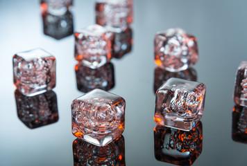 Hot melting ice