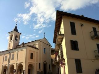 Cocconato d'Asti-centro del paese