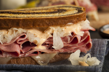 Homemade Reuben Sandwich