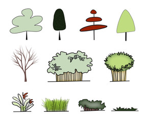 graphic form of tree