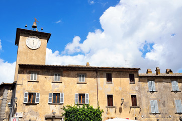tower of moro Orvieto, Umbria, Italy