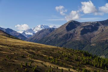 Scenic landscape in Italian Alps