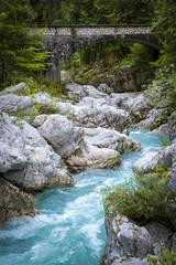 River bed of Soca