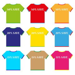 shirt good price vector
