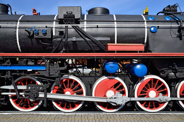 Steam locomotive series TE 858