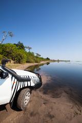 4x4 car at Chobe
