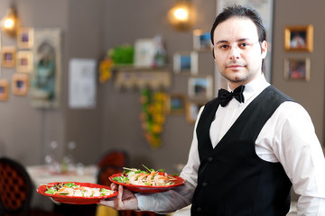 Waiter portrait