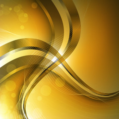 Abstract luxury background with wave