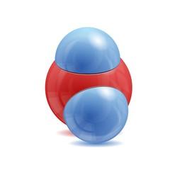Water H@O molecule