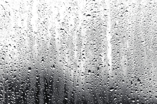 Fototapeta rain on glass