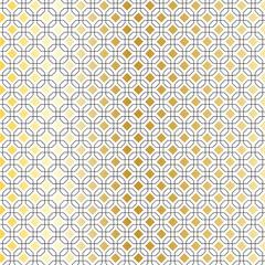 black gold geometric