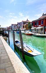 Street in Murano, Italy