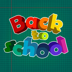 Back to school , vector