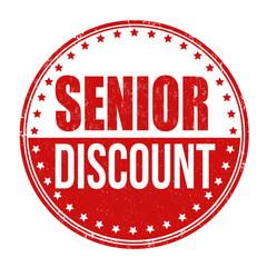 Senior discount stamp