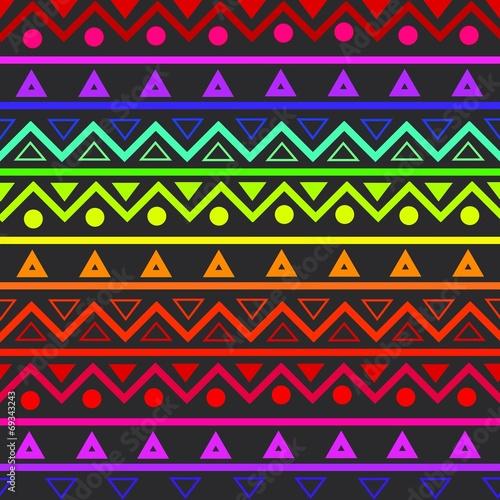 In de dag Kunstmatig Ethnic pattern