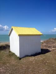 Cabine de plage - Gouville sur mer
